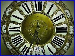 5 cloches horloge Kaminuhr pendule antik clock cartel Uhr no Comtoise