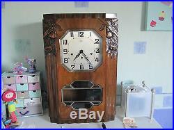 Ancien Carillon Odo N°30 10 Marteaux 10 Tiges Avec Rouleau