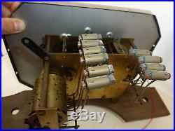 Ancien Carillon Pendule Odo N° 30 10 Tiges 10 Marteaux Gros Rouleau Old Clock