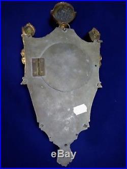 ANCIEN PETIT CARTEL DAPPLIQUE en BRONZE