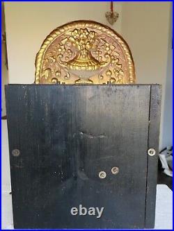 ANCIENNE GRANDE HORLOGE COMTOISE PENDULE PENDULUM, BALANCIER CLEF XIXe