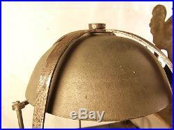 ANCIENNE HORLOGE LANTERNE CAPUCINE 3 POIDS 2 MARTEAUX PENDULE 18 ème PENDULUM