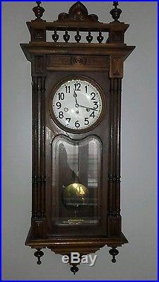 ancien carillon horloge art d co cadran emaill 8 marteaux ann es 1930 horloges pendules. Black Bedroom Furniture Sets. Home Design Ideas
