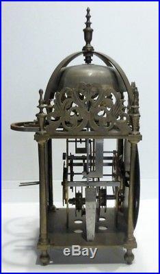 Ancien MOUVEMENT de Pendule Lanterne 1 Aiguille XVIIIe-XIXe