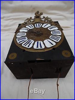Ancien Mouvement d'horloge XVII ème à une aiguille