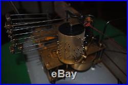 Ancien carillon véritable WESTMINSTER ODO 24 10 tiges 11 marteaux gros rouleaux