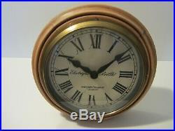 Ancienne Horloge Brillie De Gare/pendule Industrielle/old Industrial Clock/usine