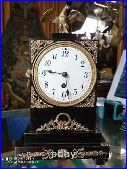 Ancienne Pendule Biedermeier Époque 19eme