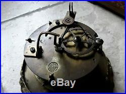 Ancienne Pendule Portique Colonne Charle X/ Horloge /a Restaurer/rollin
