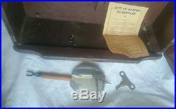 Ancienne horloge pendule carillon odo westminster 10 marteaux 10 tiges n24