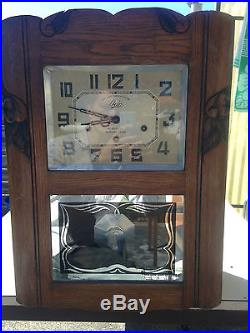 ancienne horloge pendule carillon odo westminster 10 marteaux n24 double m lodie horloges pendules. Black Bedroom Furniture Sets. Home Design Ideas