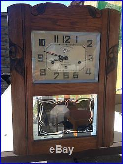 ancienne horloge pendule carillon odo westminster 10. Black Bedroom Furniture Sets. Home Design Ideas
