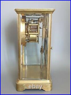 Ancienne pendule Cage Carillon Vers 1900