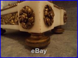 Ancienne pendule marbre et bronze