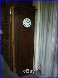 Beau mouvement complet de pendule régulateur Paul GARNIER clock railway no lepa