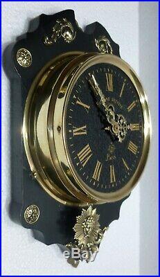 Belle PENDULE murale Mouvement FARCOT XIXème révisée horloge clock