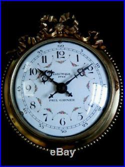 Belle horloge electrique PAUL GARNIER electric clock (no Ato, Lepaute, Brillié)