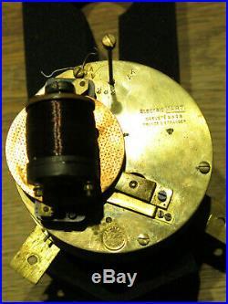 Belle horloge gare DREVON mvt MARTI electrique clock (no Brillié)