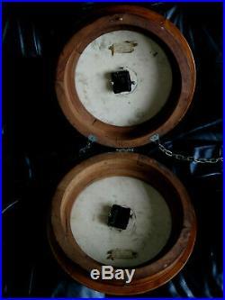 Belle pendule BRILLIE double face autonome (no Ato, Lepaute, bulle clock)