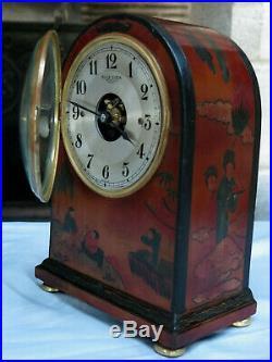 Belle pendule Bulle Clock japonisante année 30 (no Ato, Brillié)