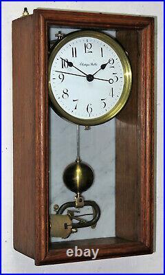 Belle pendule electrique BRILLIE master clock (no Lepaute, Ato)