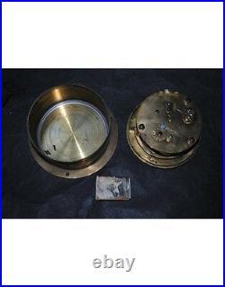 Belle pendulede marine à chaine et fusée XIX navy clock