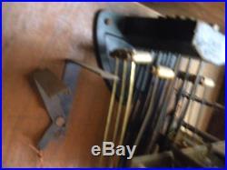 Carillon Horloge Pendule Odo 10 Tiges 10 Marteaux Mecanisme A Rouleau