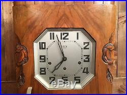 CARRILLON ODO 36 8 MARTEAUX 8 TIGES PENDULE HORLOGE CLOCK