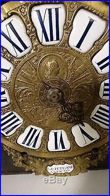CARTOUCHE 1 AIGUILLE L XIV signé guiété and a macon