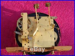 Carillon Ave Maria 10 tiges 10 marteaux Junghans style Henri II no Odo clock