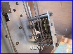 Carillon Horloge Westminster jura romanet boite musique 8 marteaux 8 tiges 9