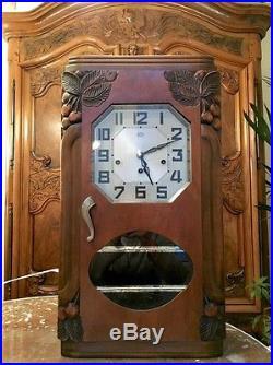 Carillon Odo 34 8 marteaux 8 diapasons musical rare old clock chime superbe