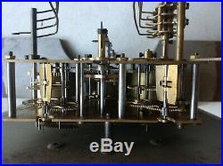 Carillon Pendule Horloge Odo 30 8 Tiges 8 Marteaux Melodie T. B. E