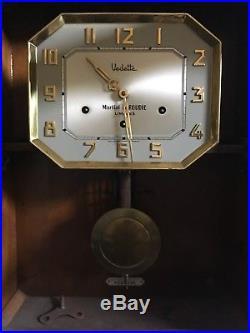 Carillon Vedette Veritable Westminster 8 Tiges 8 Marteaux Art Deco