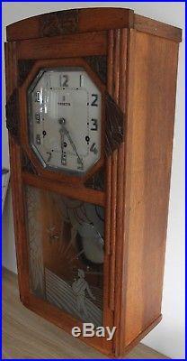Carillon vedette 10 marteaux 10 tiges 2 aire frères jacques Westminster chrome
