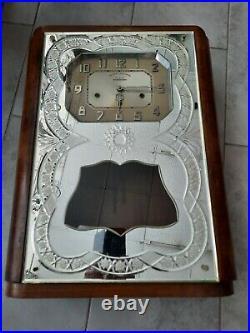 Carillon véritable Westminster 8 tiges 8 marteaux 3 trous Avron façade miroir