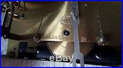 Carillon westminster odo 10 tiges 10 marteaux boite a musique numero 36