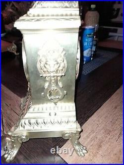 Cartel Bronze De Cheminée
