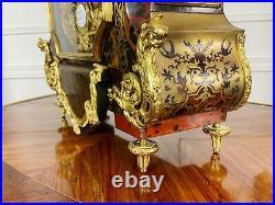 Cartel D Applique Boulle De Thuret A Paris De 90 CM De Haut Epoque Napoleon III