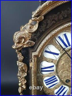 Cartel En Marqueterie Boulle Napoléon III, XIX ème s