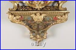 Cartel Louis XV époque XVIIIe siècle Marqueterie Boulle