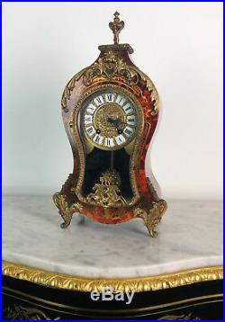 Cartel Style Boulle Orné De Bronze De 41 CM De Hauteur (epoque Xxeme)