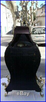 Cartel aux Têtes enturbannées en marqueterie Boulle et sa console, 140 cm
