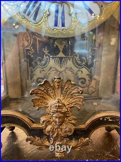 Cartel époque Louis XIV marqueterie Boulle Gaudron Paris
