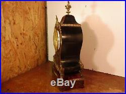 Cartel sur socle bois marqueterie BOULLE(a restaurer) fonctionne sonne