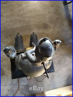 Comtoise 3 cloches avec Jaquemarts