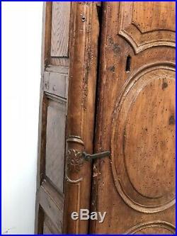Comtoise Pendule XVIIIeme Mouvement Mécanisme Ancien Galbée Commode Provençale
