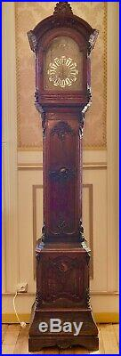 Comtoise/horloge De Parquet Louis XV Restaurée IL Y A 10 Ans, Fonctionne