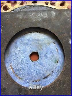 Comtoise une aiguille, cadran cuvette emaillé, XVIIIème siecle, dans son jus