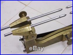 ENORME compas aux engrenages de pendulerie Horloger Clockmakers depthing tool